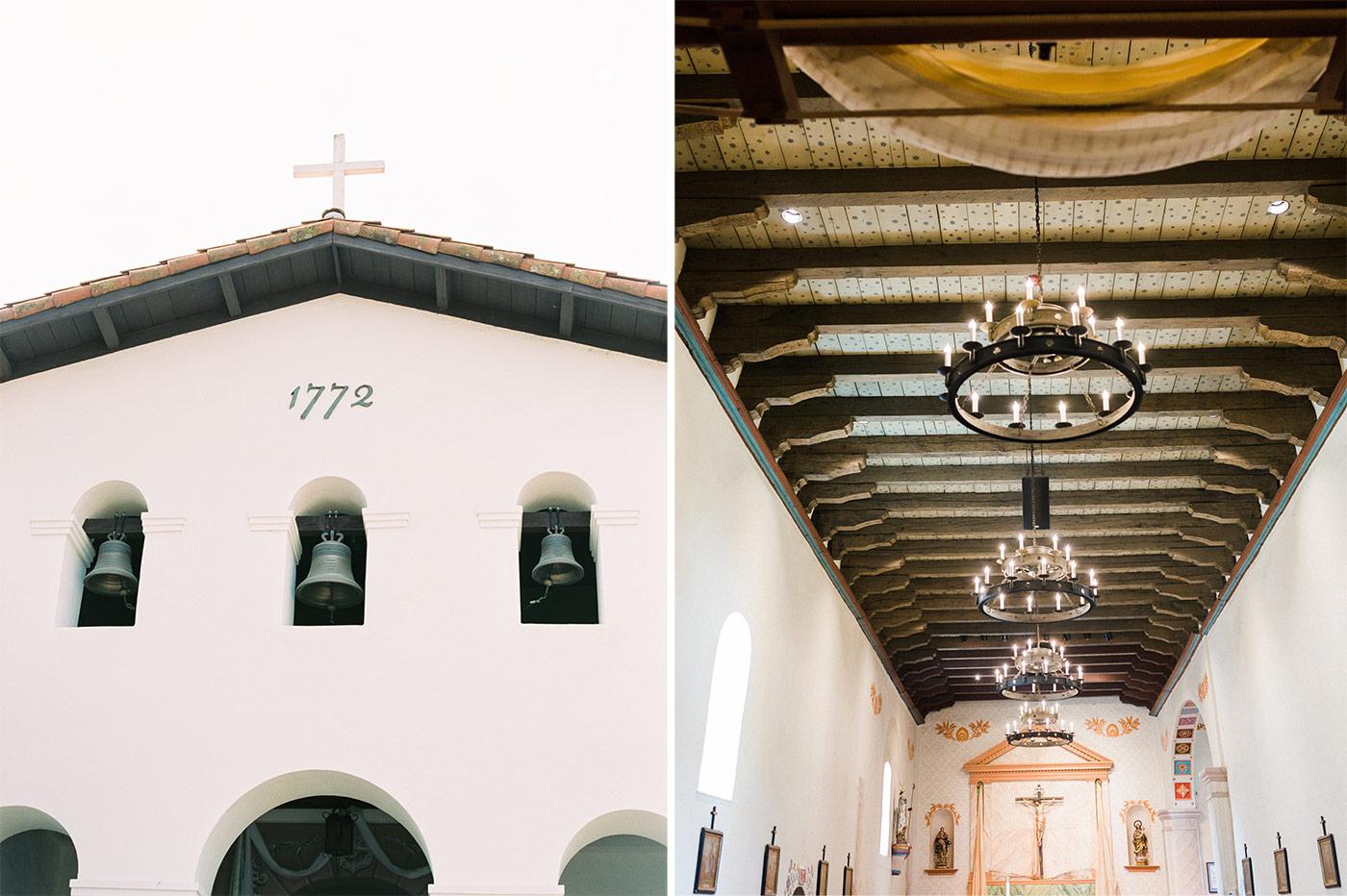 San Luis Obispo Mission Wedding
