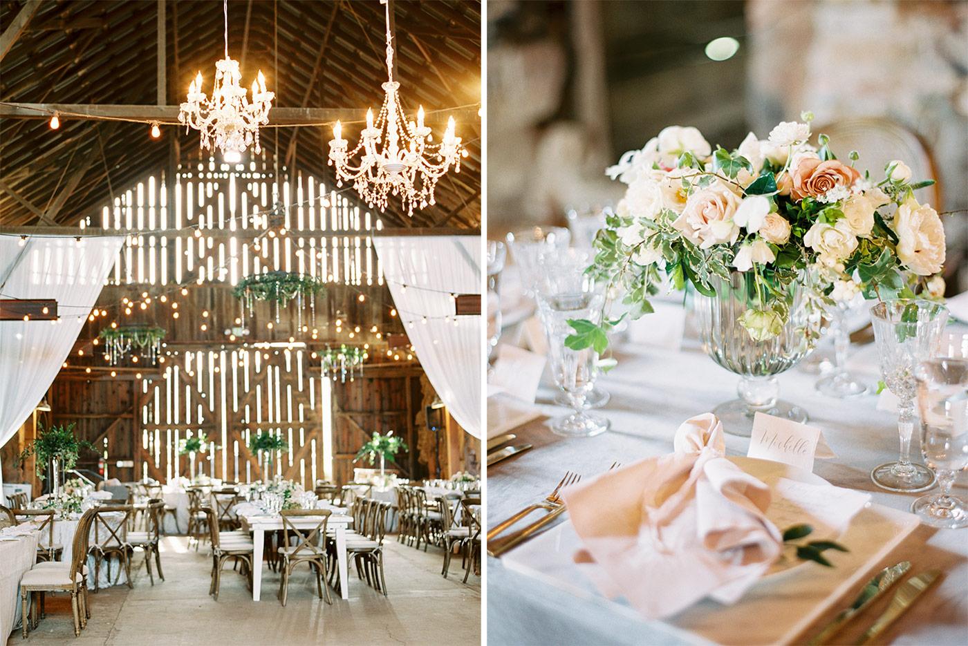 Elegant Fine Art Santa Margarita Rnach Wedding Photographed by Ashley Ludaescher