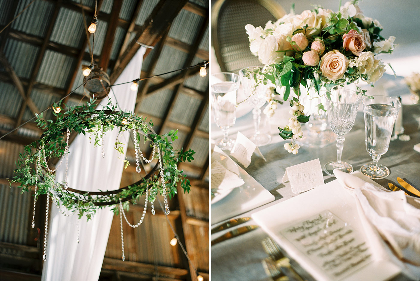 Santa Margarita Ranch Wedding Designed by Danae Grace Events, Florals by Noonan's Wine Country Designs and Photographed by Ashley Ludaescher Photography