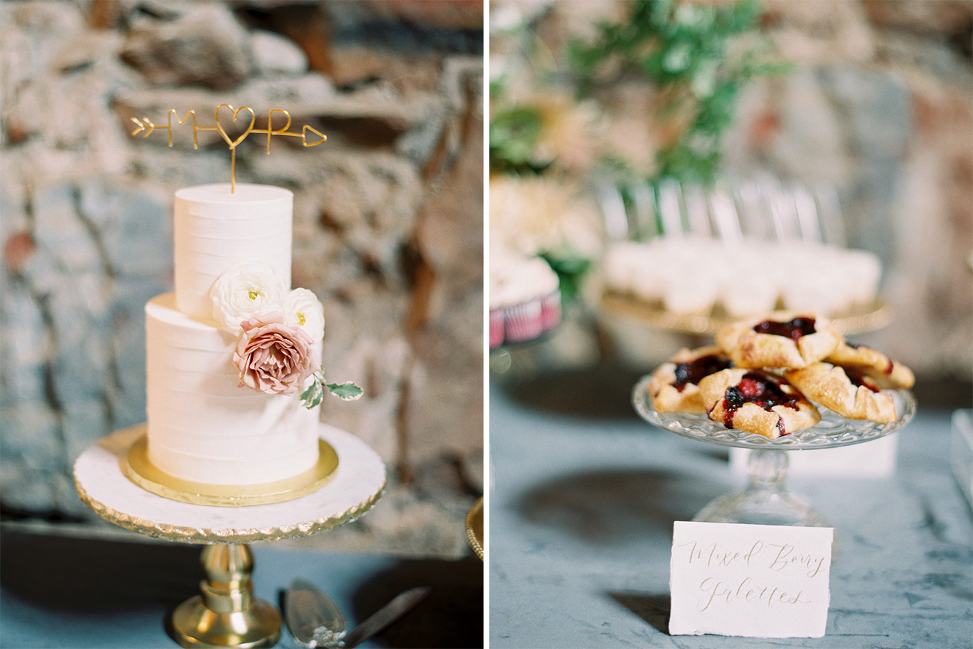 Elegant Wedding Cake by Paper Cake Events