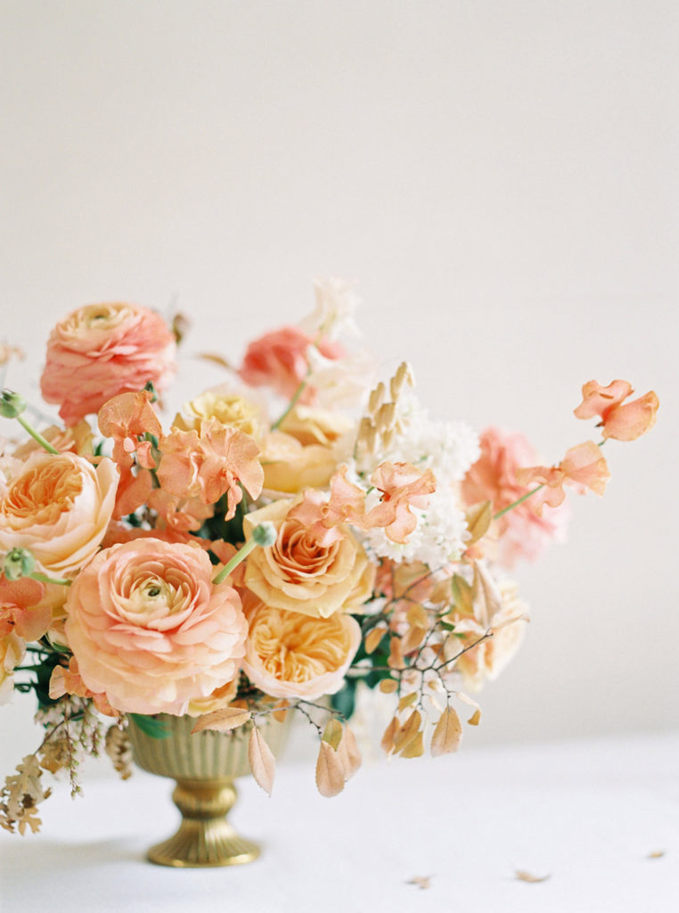 Rose Gold Wedding Color Minimalist Style Ashley Ludaescher Photography