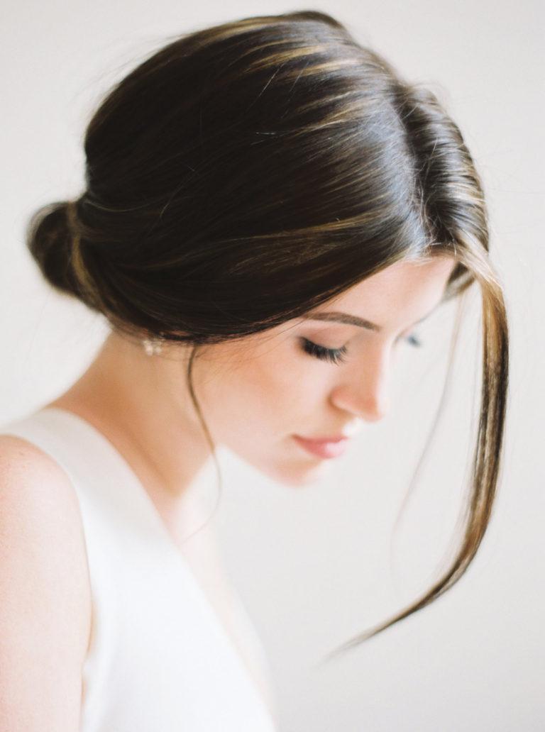 Rose Gold Wedding Color Minimalist Style Ashley Ludaescher Photography