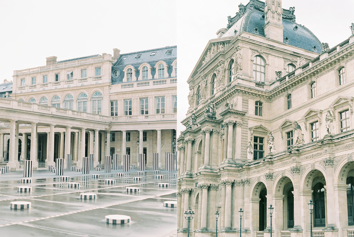Paris France Fine Art Film Wedding Photographer
