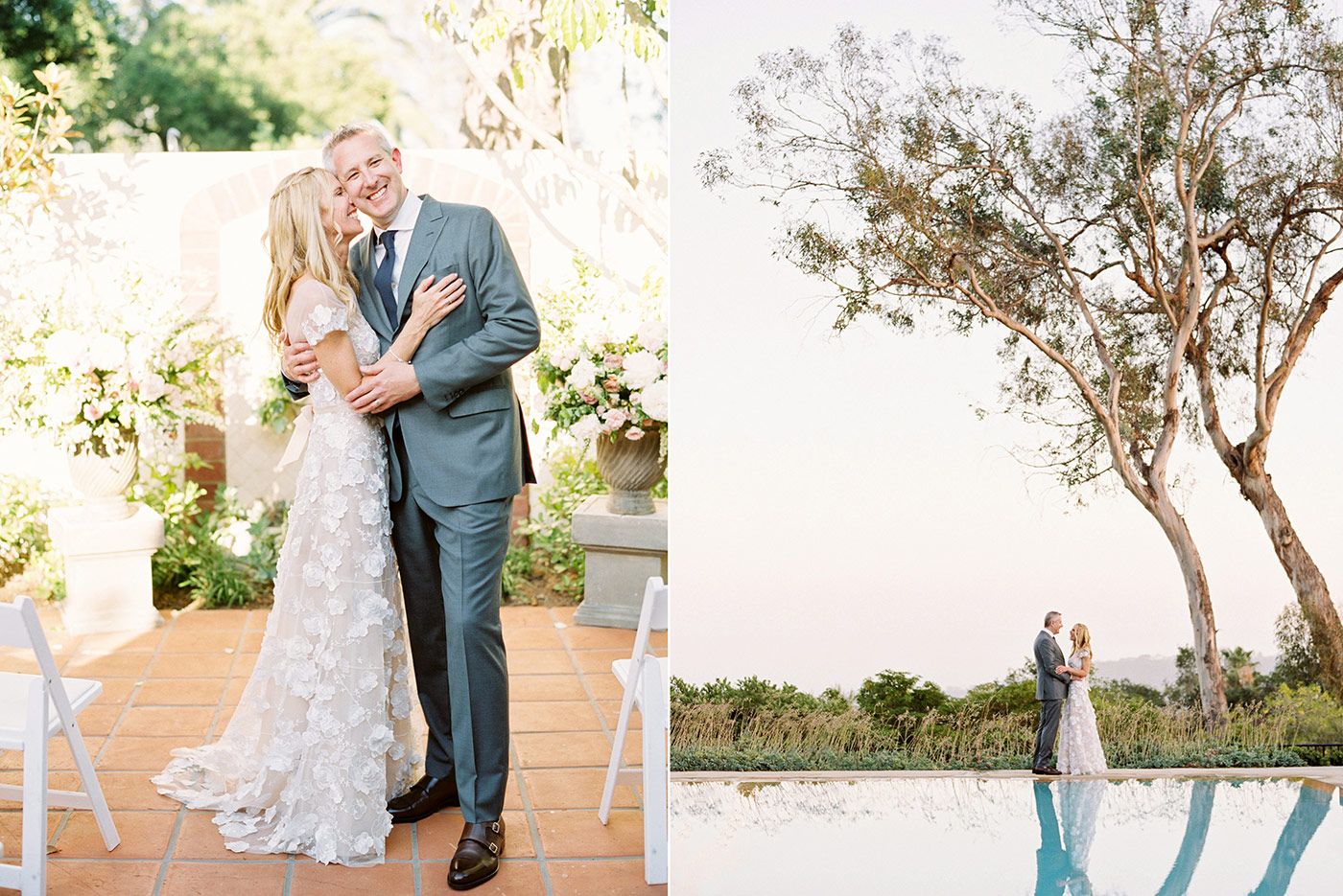 Belmond El Encanto Santa Barbara Film Wedding Photographer