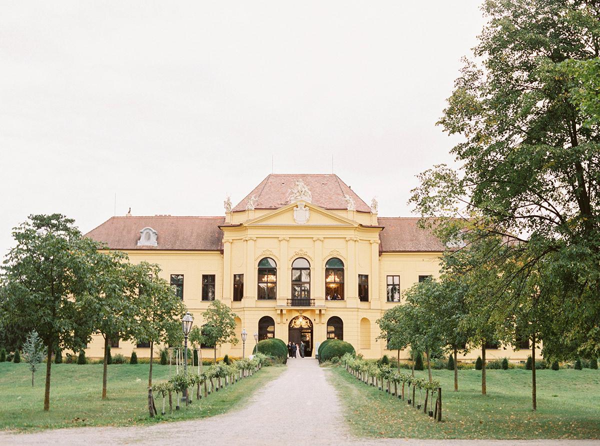 Schloss Eckartsau Castle Wedding Photographer Vienna Austria