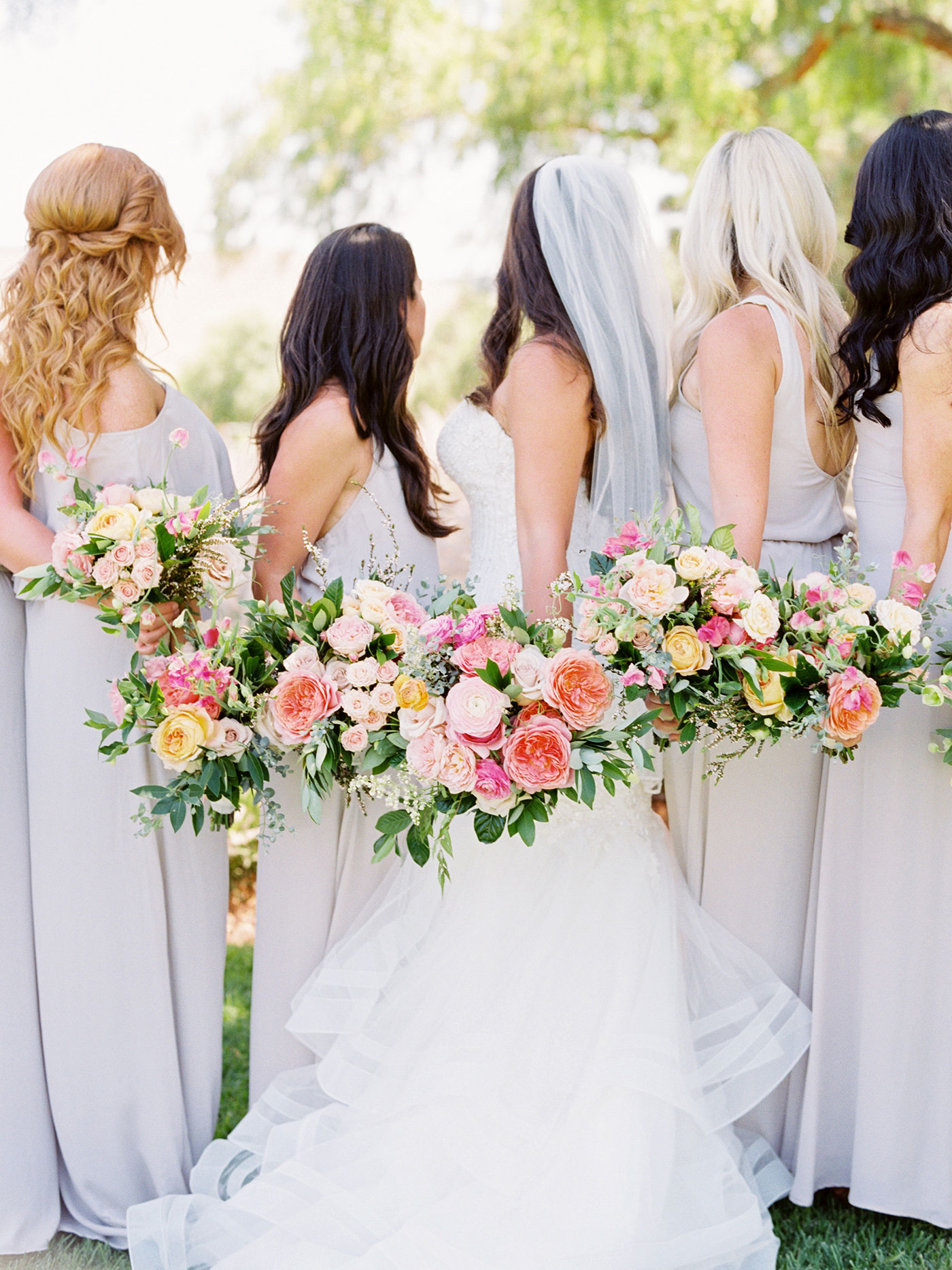 Bride & Bridal Party Bouquets