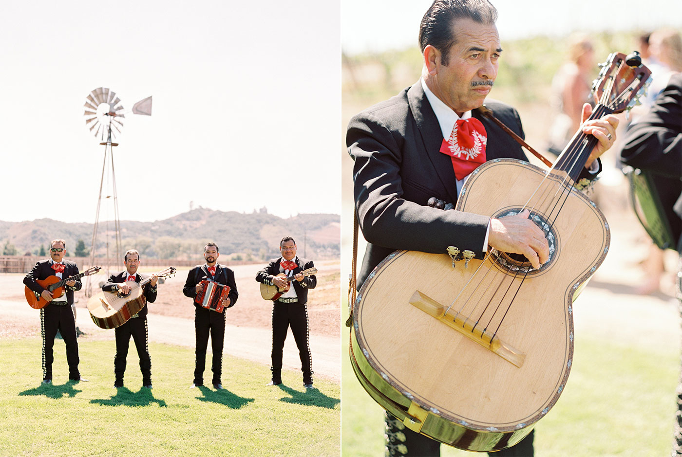 Mexico Inspired Greengate Ranch Vineyard Edna Valley Wedding Photographer San Luis Obispo