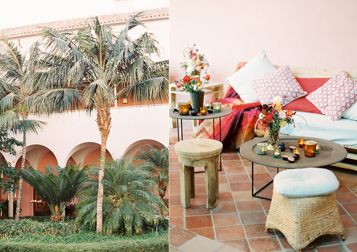 Moroccan Inspired Wedding Finca Cortesin Marbella Spain