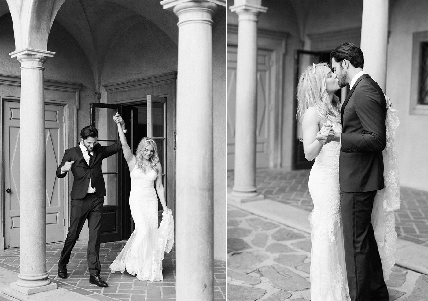 Villa del Sol d'Oro Wedding Pasadena Photographer
