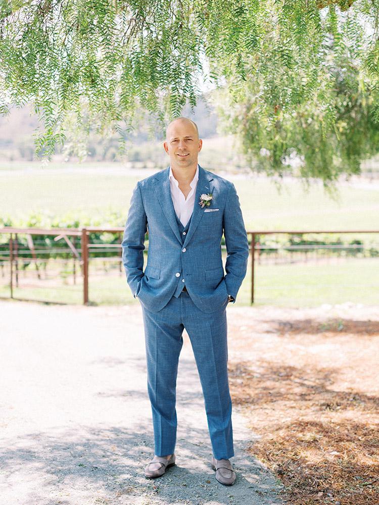 Organic Neutral Toned Modern Wedding Greengate Ranch Vineyard