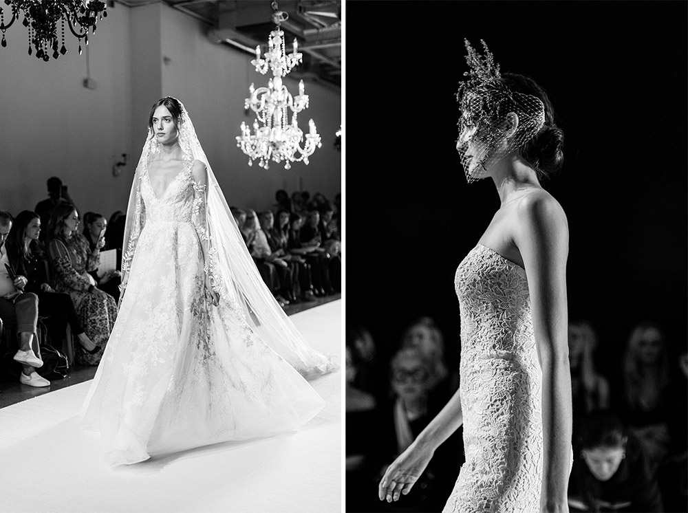 Anne Barge New York Bridal Fashion Week