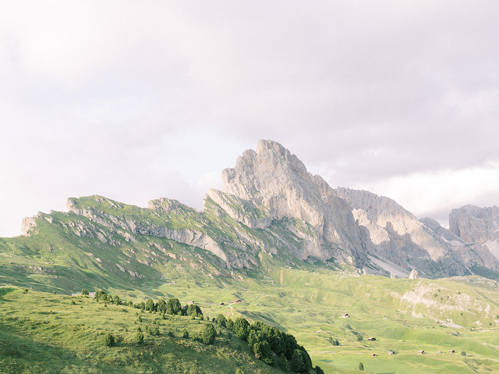 South Tyrol Wedding Photographer. Italian Dolomites Travel Photo