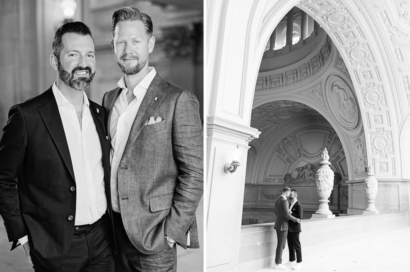 San Francisco City Hall LGBTQ Wedding Photography